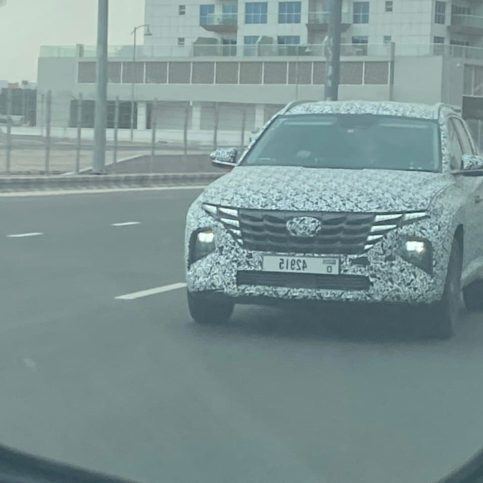 All New Hyundai Tucson Likely to Debut in August 2020 3