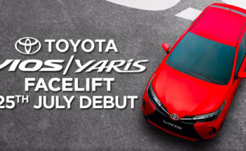 2020 Toyota Yaris/ Vios Facelift to Launch on 25th July 7