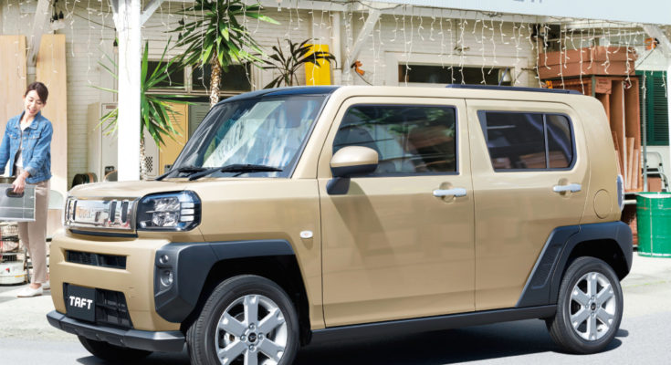 Daihatsu TAFT Goes on Sale in Japan 1