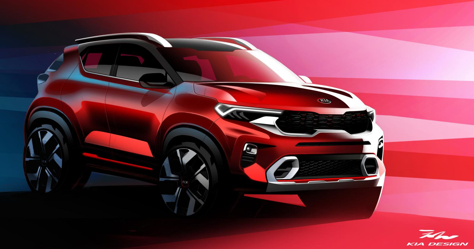 Kia Sonet to Make Its World Debut on 7th August 9