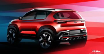 Kia Sonet to Make Its World Debut on 7th August 3