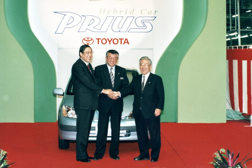 23 years of Toyota Prius 10