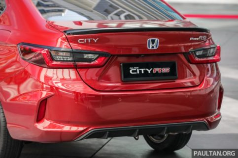 All New Honda City Previewed in Malaysia 12