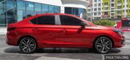 All New Honda City Previewed in Malaysia 5