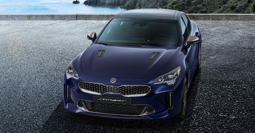 Kia Stinger Facelift Officially Revealed 1