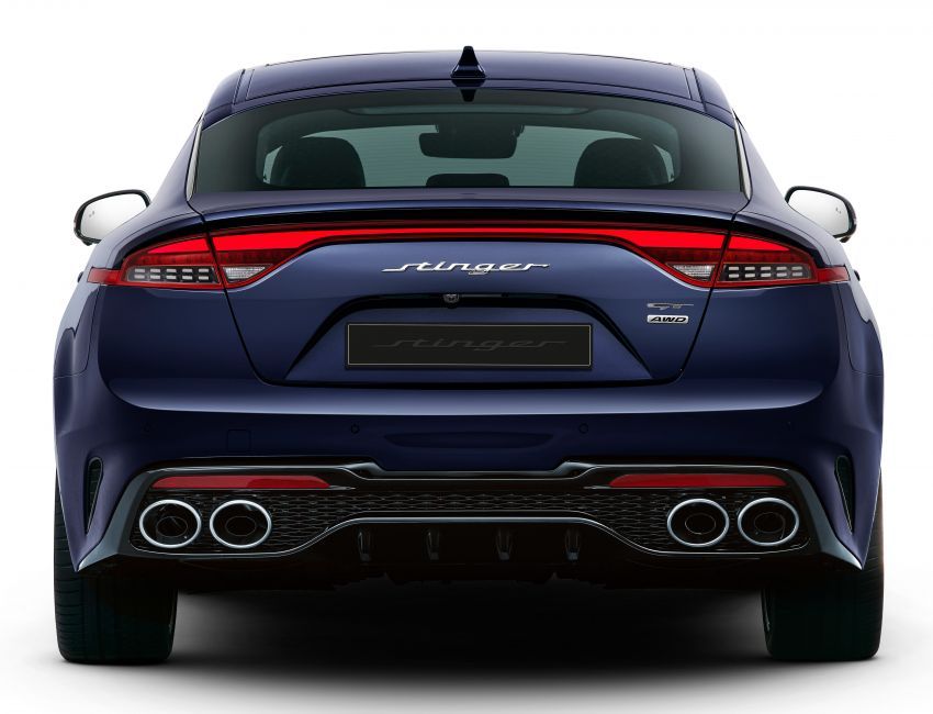 Kia Stinger Facelift Officially Revealed 3