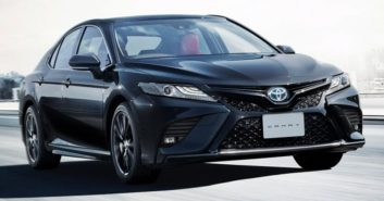 40th Anniversary Toyota Camry Black Edition Launched in Japan 8