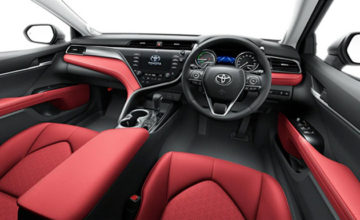 40th Anniversary Toyota Camry Black Edition Launched in Japan 18