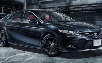 40th Anniversary Toyota Camry Black Edition Launched in Japan 11