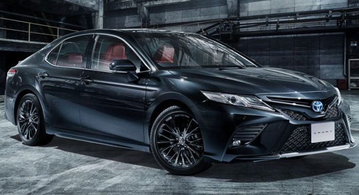 40th Anniversary Toyota Camry Black Edition Launched in Japan 1