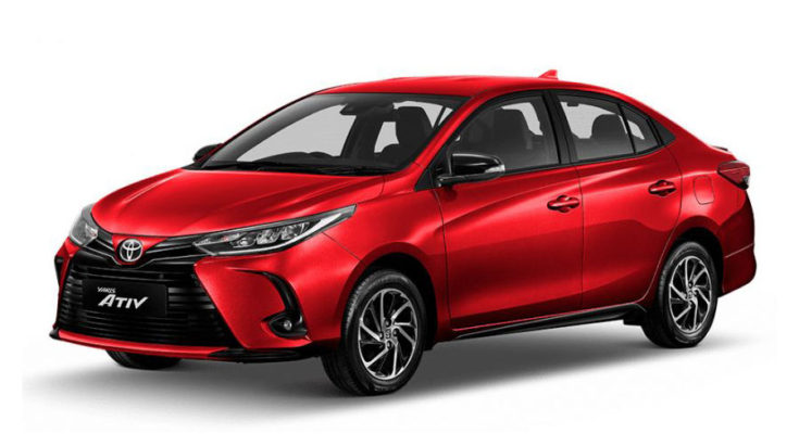 Toyota Yaris and Yaris Ativ Facelift Launched in Thailand 1