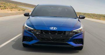 2021 Hyundai Elantra N Line Debuts 21