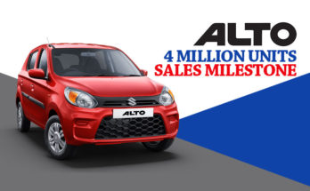Alto Surpass 4 Million Sales Milestone in India 5