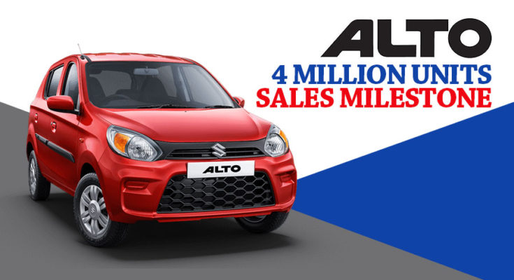 Alto Surpass 4 Million Sales Milestone in India 1