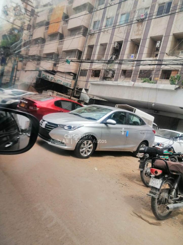 Changan Alsvin Sedan Spotted in Karachi 1