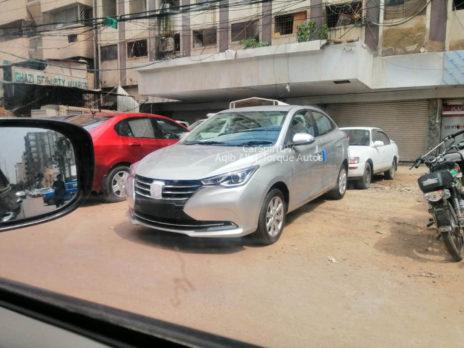 Changan Alsvin Sedan Spotted in Karachi 3