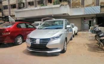 Changan Alsvin Sedan Spotted in Karachi 5