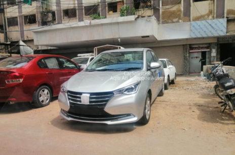 Changan Alsvin Sedan Spotted in Karachi 4