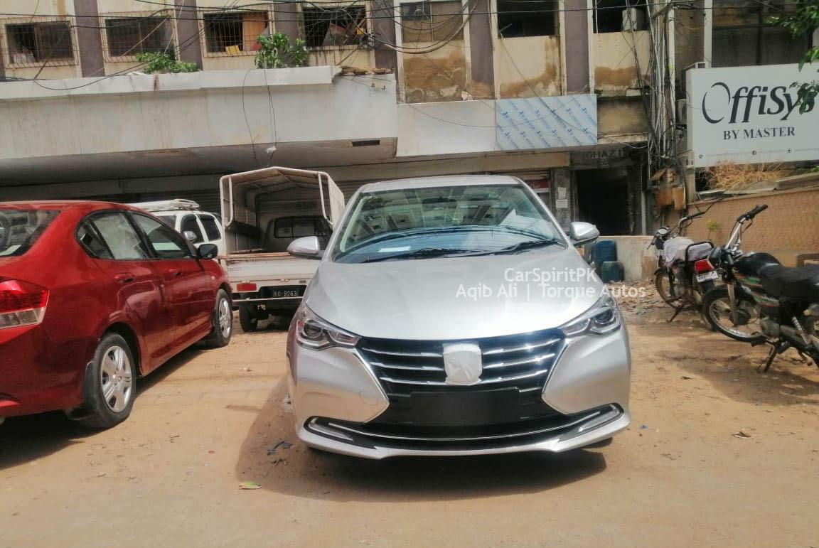 Changan Alsvin Sedan Spotted in Karachi 5