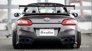Daihatsu Copen Cosplays as Nissan GT-R 5