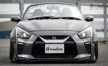 Daihatsu Copen Cosplays as Nissan GT-R 4