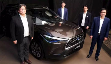 Toyota Corolla Cross Launched in Indonesia 2