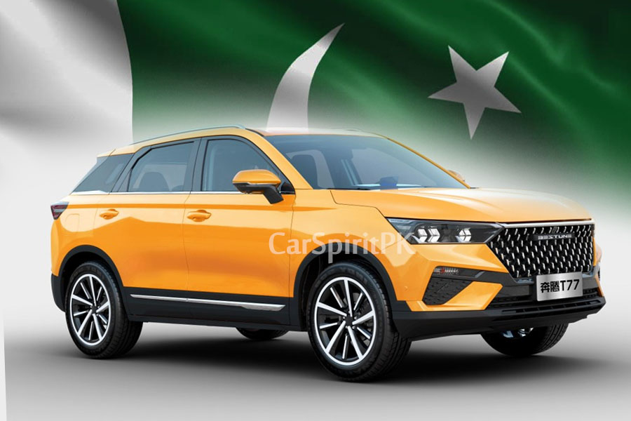 Al-Haj FAW to Introduce Bestune T77 SUV in Pakistan 2