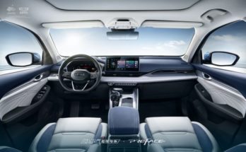 Geely Reveals Preface Interior Ahead of Q4 Debut 2
