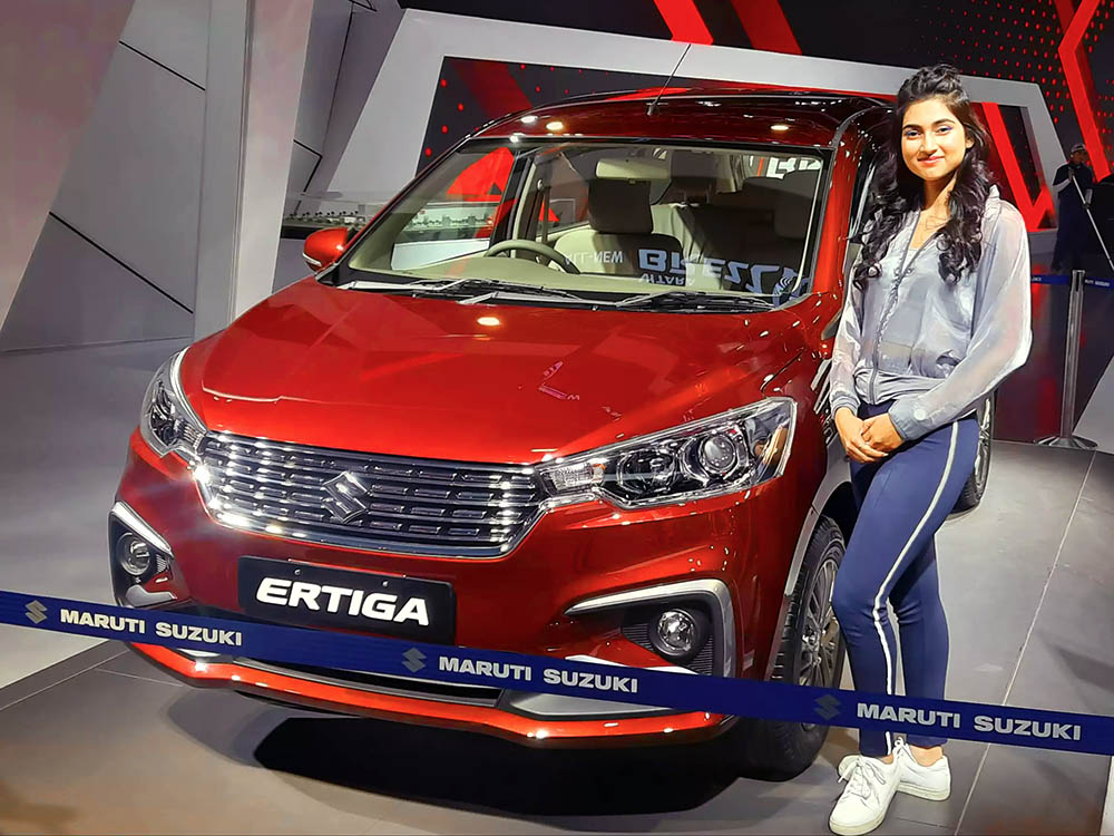 Suzuki Ertiga Surpasses 5.5 Lac Units Sales Milestone in India 1