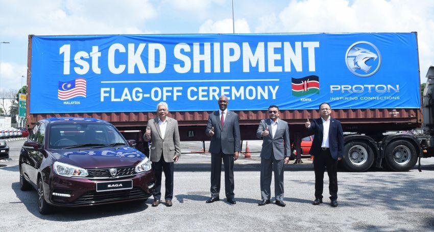 Proton Saga Reaches Kenya 1