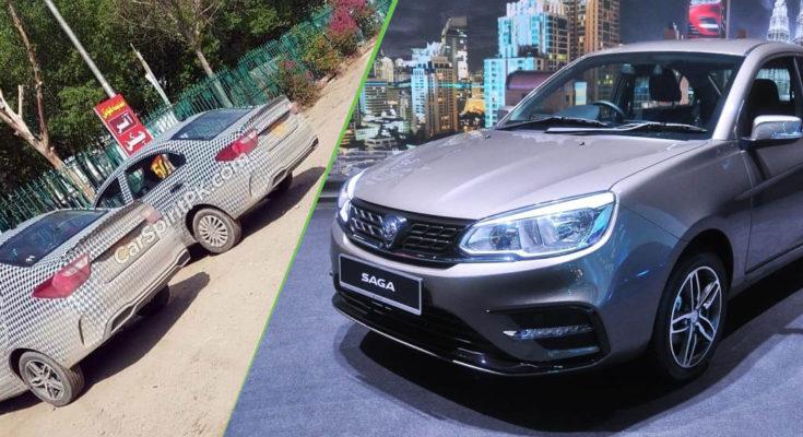 Proton Saga Sedan Spotted in Lahore 1