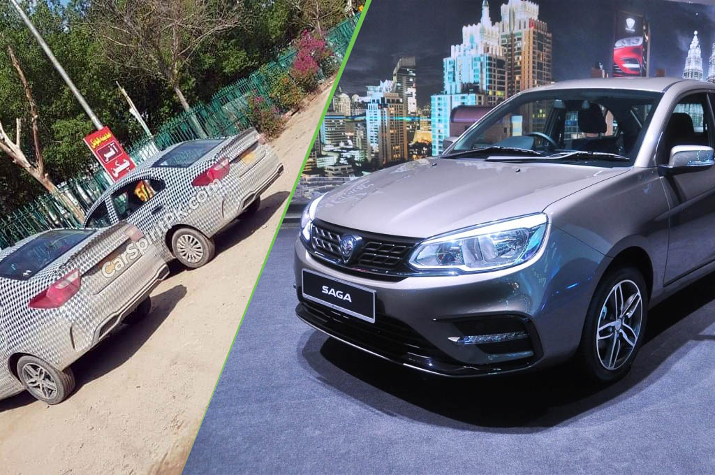 Proton Saga Sedan Spotted in Lahore 9
