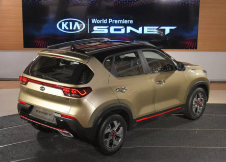 All New Kia Sonet Makes Its World Debut 9