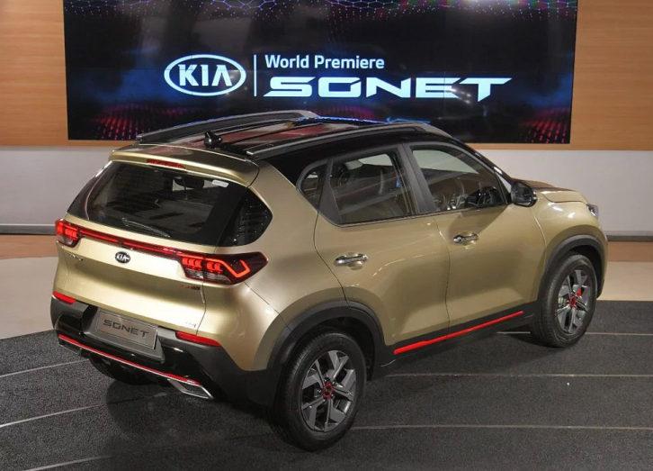 All New Kia Sonet Makes Its World Debut 8