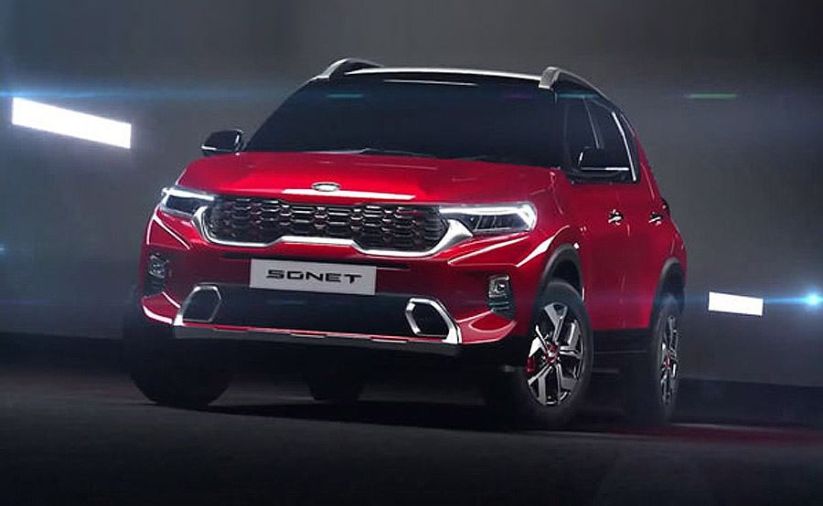 All New Kia Sonet Makes Its World Debut 8