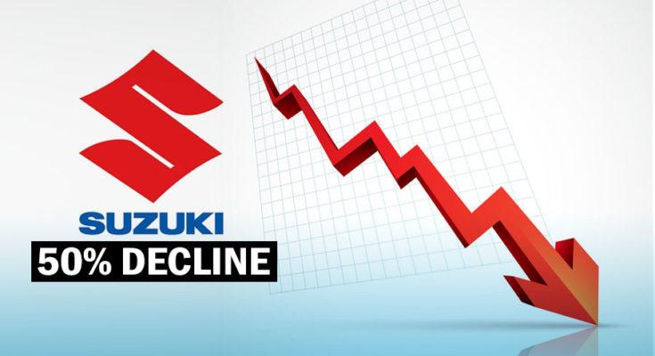 Pak Suzuki Suffering from 50% Decline in Sales 1