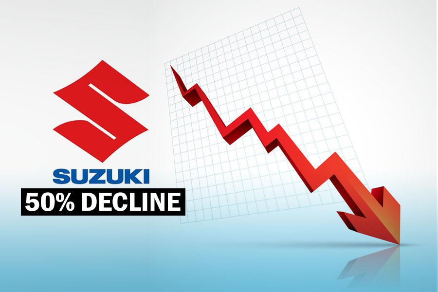 Pak Suzuki Suffering from 50% Decline in Sales 9