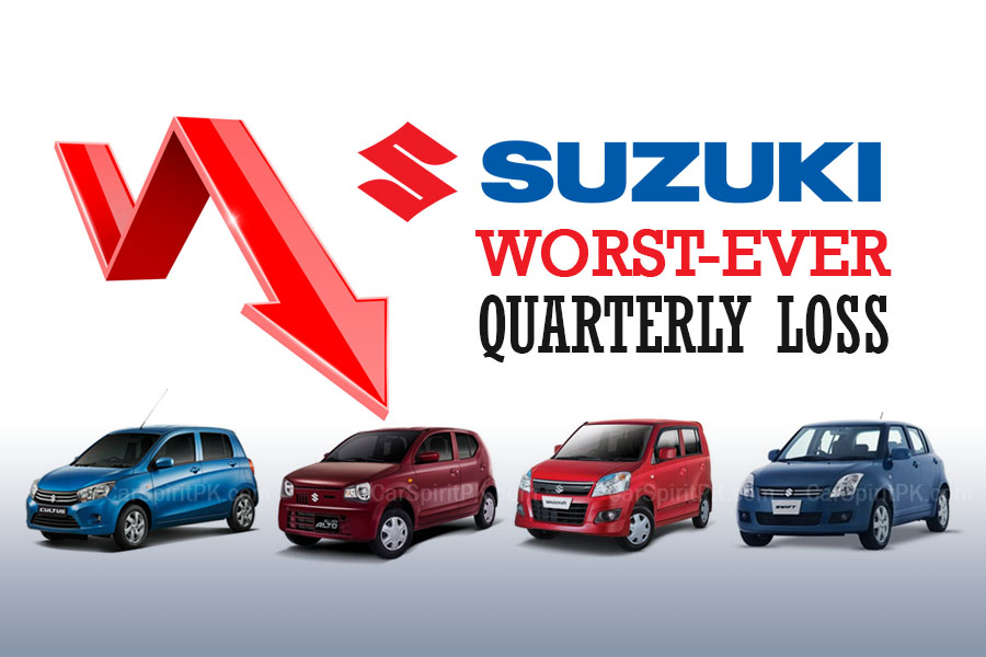 Pak Suzuki Suffers from Worst Quarterly Loss 2