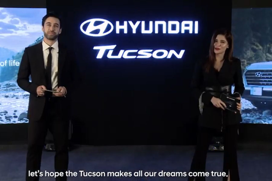 Hyundai-Nishat Unveils Tucson SUV in a Digital Event Online 1