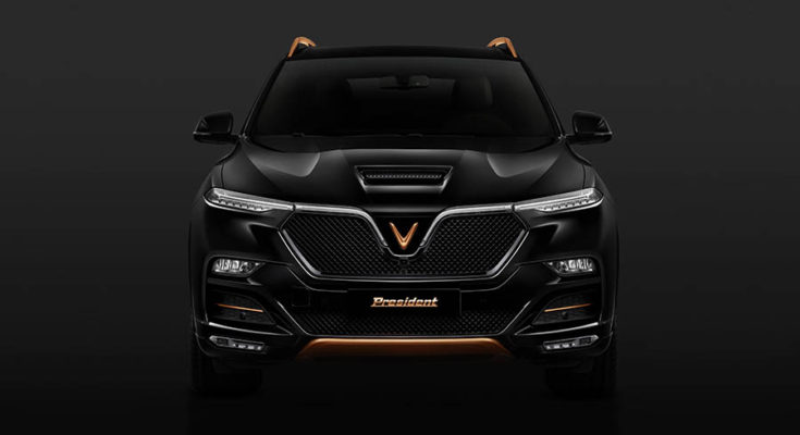 VinFast Officially Reveals President SUV 1