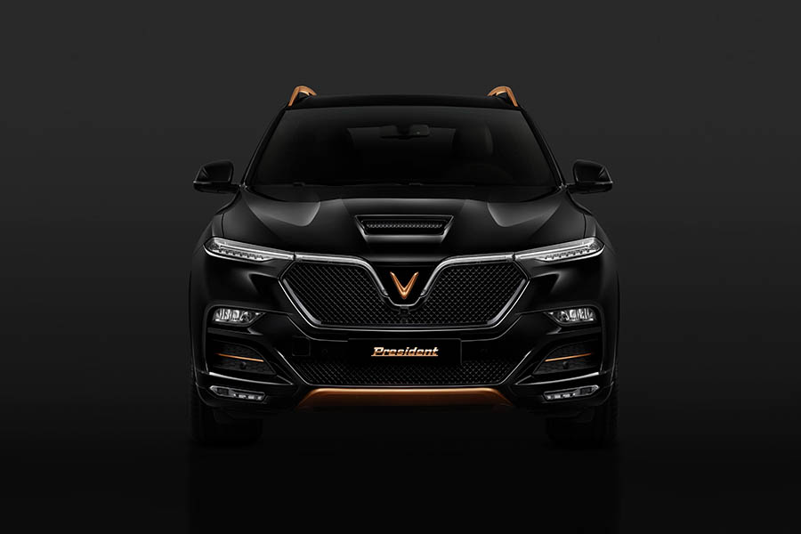VinFast Officially Reveals President SUV 2