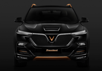 VinFast Officially Reveals President SUV 3