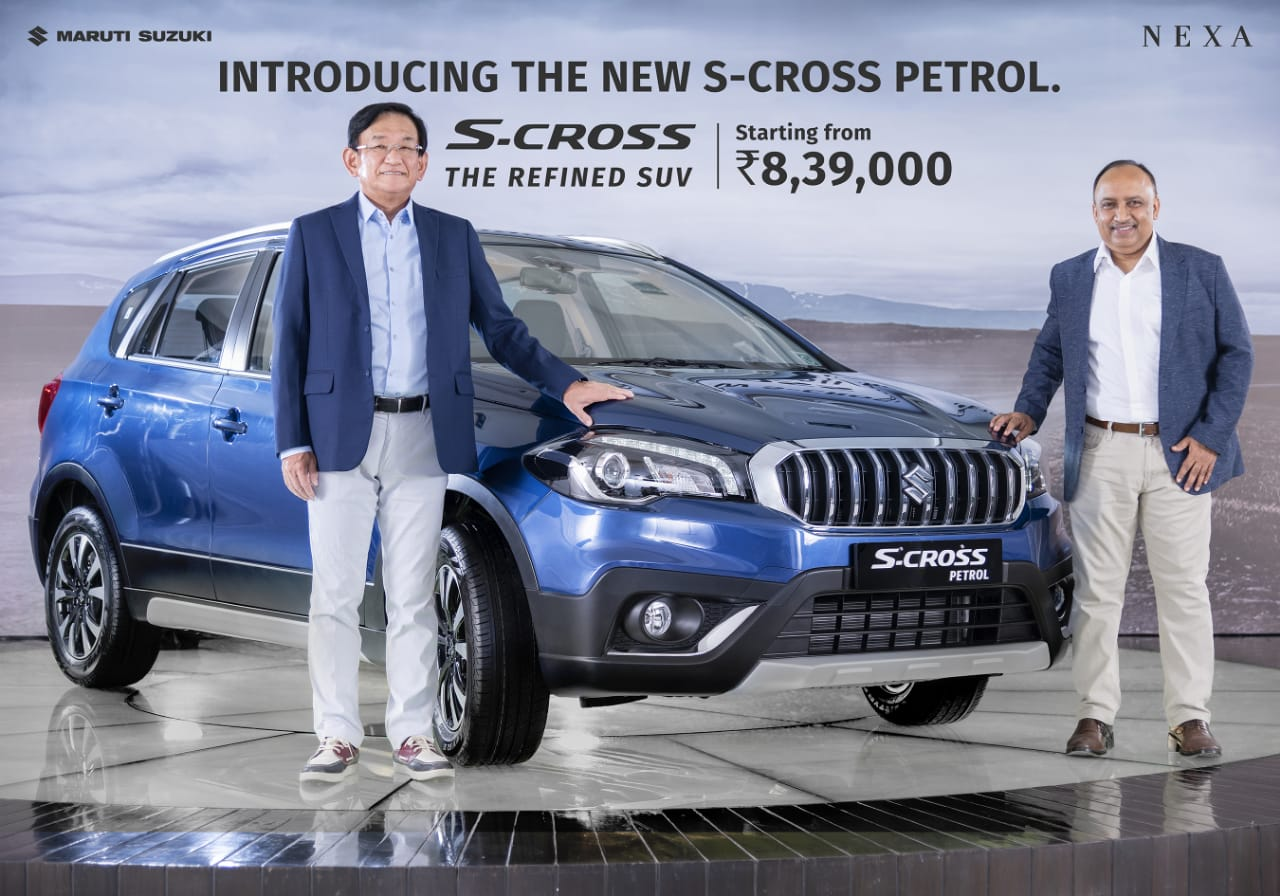 Suzuki S-Cross Petrol Launched in India at INR 8.37 lac 2