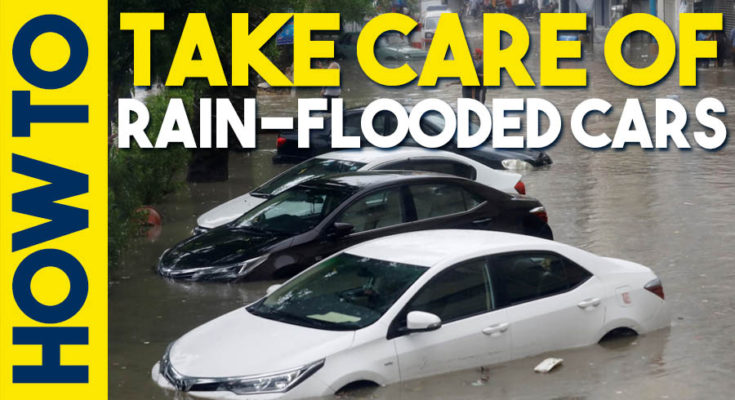 Taking Care of Your Rain-Flooded Car 1