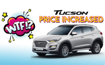 Hyundai Tucson Price Increased by Rs 200,000 3