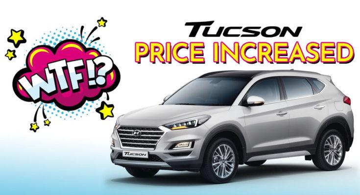 Hyundai Tucson Price Increased by Rs 200,000 1
