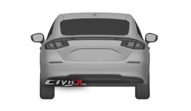 Next-Gen Honda Civic Hatchback Design Leaked In Trademark Filing 6