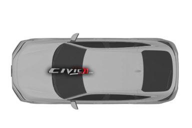 Next-Gen Honda Civic Hatchback Design Leaked In Trademark Filing 3