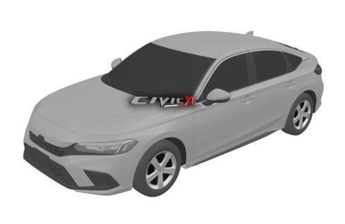Next-Gen Honda Civic Hatchback Design Leaked In Trademark Filing 2