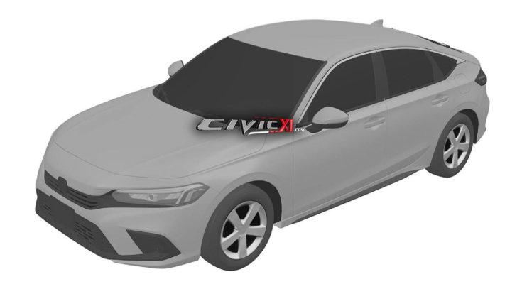 Next-Gen Honda Civic Hatchback Design Leaked In Trademark Filing 1